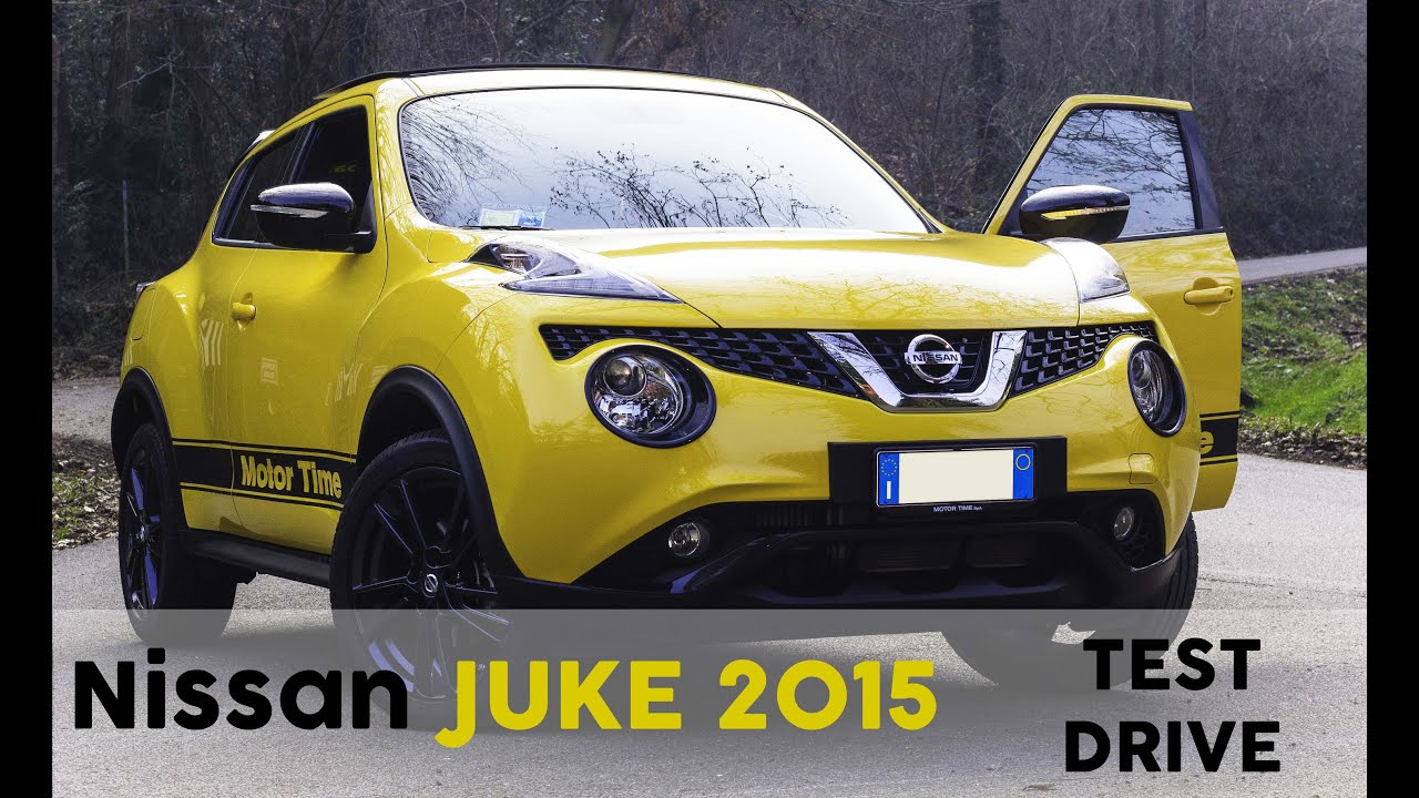 nissan juke my 2015 test drive spotted youtube. Black Bedroom Furniture Sets. Home Design Ideas