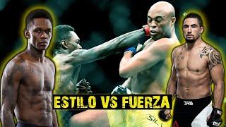 ESTILO VS FUERZA || Robert Whittaker VS Israel Adesanya || UFC 243