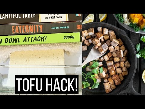 how-to-press-tofu-without-a-tofu-press-|-life-hack