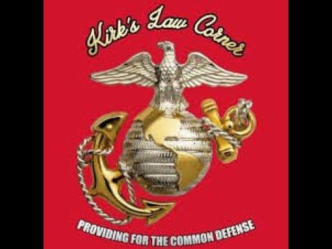 Kirk's Law Corner Friday November 20, 2020