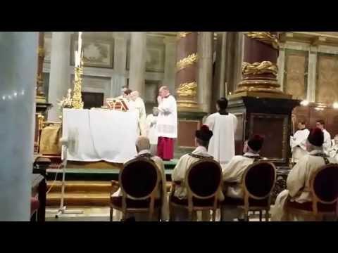 Santuario di Casaluce Messa Solenne e Vespri di Santa Maria Maggiore Roma 5 Agosto 2014