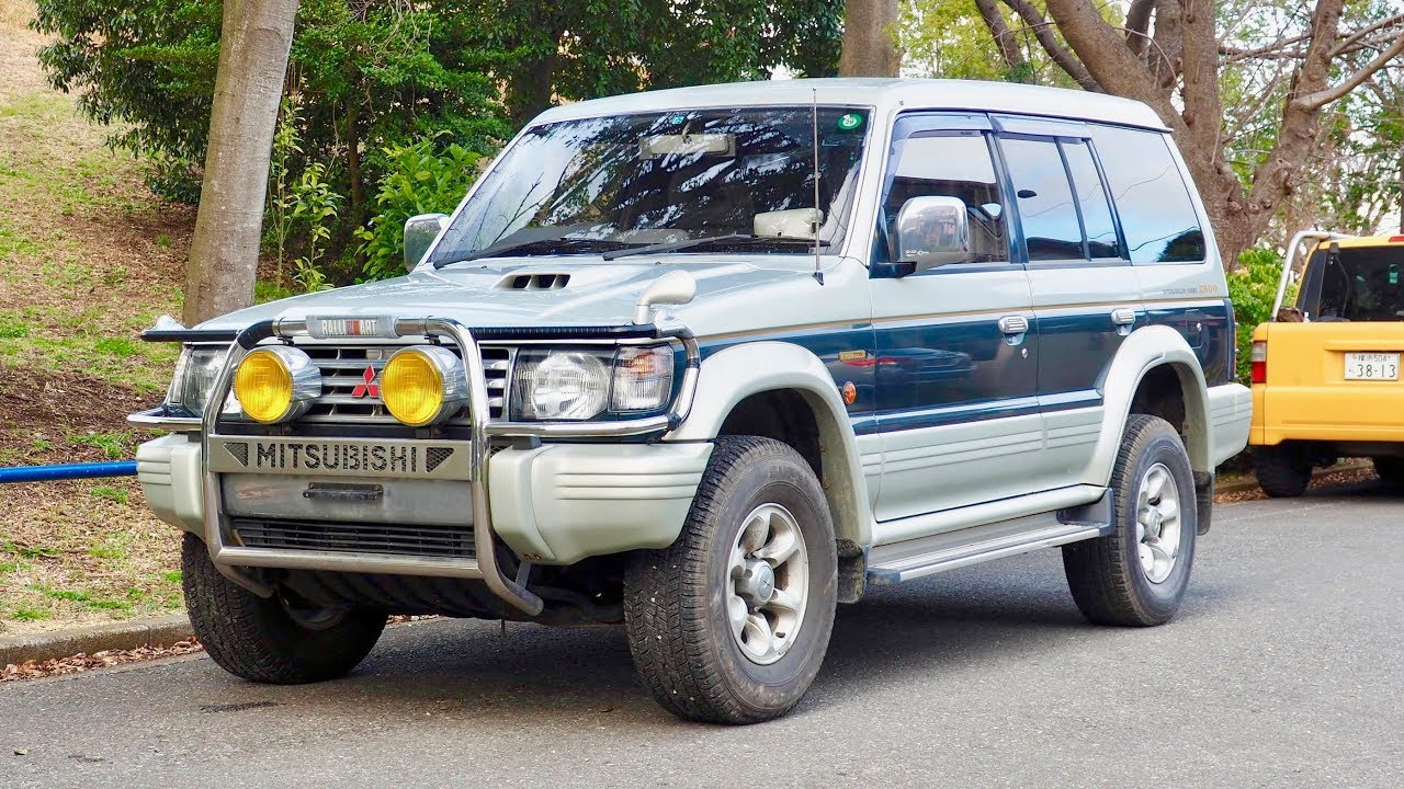 1993 Mitsubishi Pajero Turbo Diesel (USA Import) Japan Auction Purchase  Review - YouTube