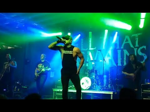 All That Remains play F**k Love live for 1st time and release 2 new song teasers..!