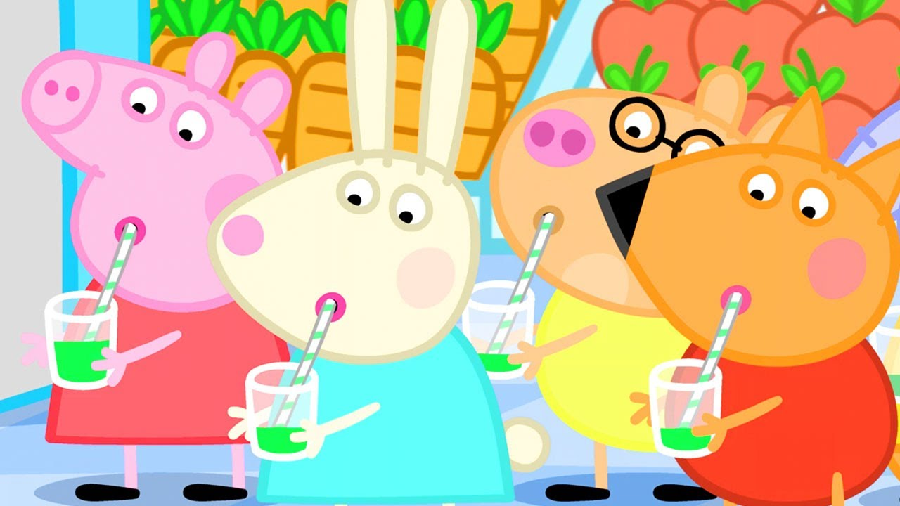 Peppa Pig Official Channel | Make Your Own Vegetable Juice with Peppa Pig
