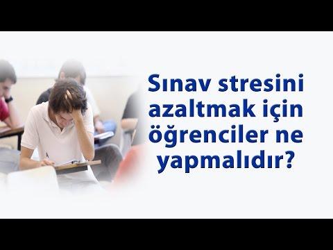 Sınav Stresini Azaltmak İçin Öğrenciler Ne Yapmalıdır ?