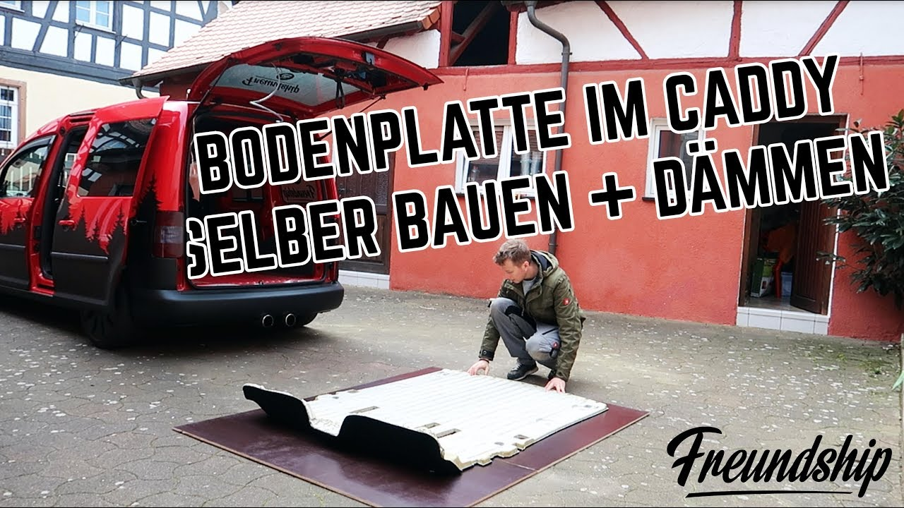 caddy minicamper d mmen und bodenplatte bauen part 3. Black Bedroom Furniture Sets. Home Design Ideas