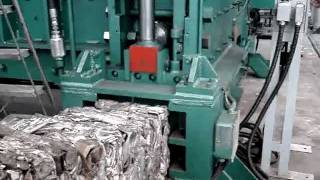 3 - LUSAR Prensa Sucata Pesada Alumínio Ferro Cobre - 5 Cilindros (Jacaré)