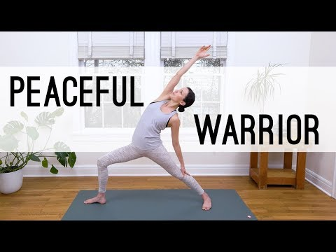 Peaceful Warrior Yoga |  Yoga With Adriene
