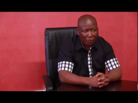 Julius Malema on the Marikana massacre
