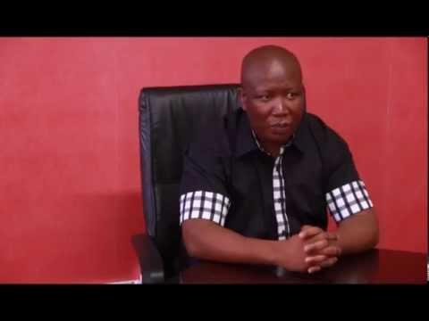 Julius Malema on the Marikana massacre