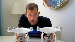 DJI PHANTOM DRONE SHOWDOWN | 4 PRO vs  4 COMPARED!