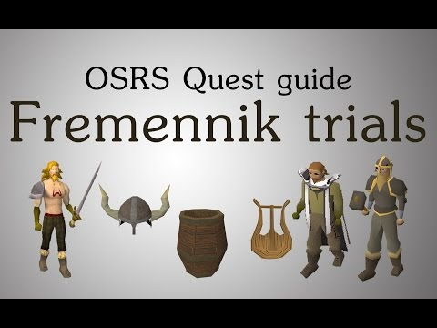 [OSRS] Fremennik trials quest guide