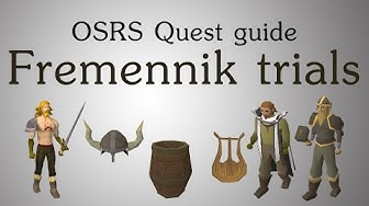 [OSRS] Fremennik trials quest guide