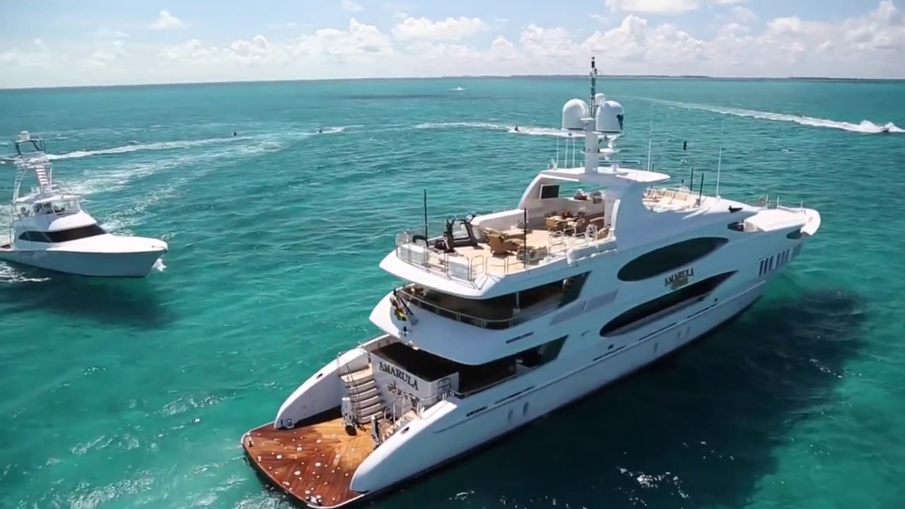 AMARULA SUN Yacht Video ex  Mine Games   164ft Luxury Moto