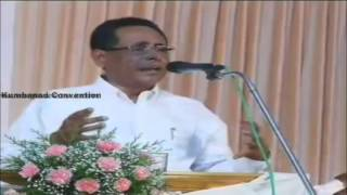 Dangers of Forgetfullness by Pr. Babu Cherian (Kumbanad Convention - 2013)