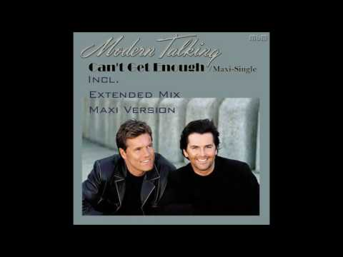 Modern Talking - Can't Get Enough Maxi-Single (re-cut by Manaev)