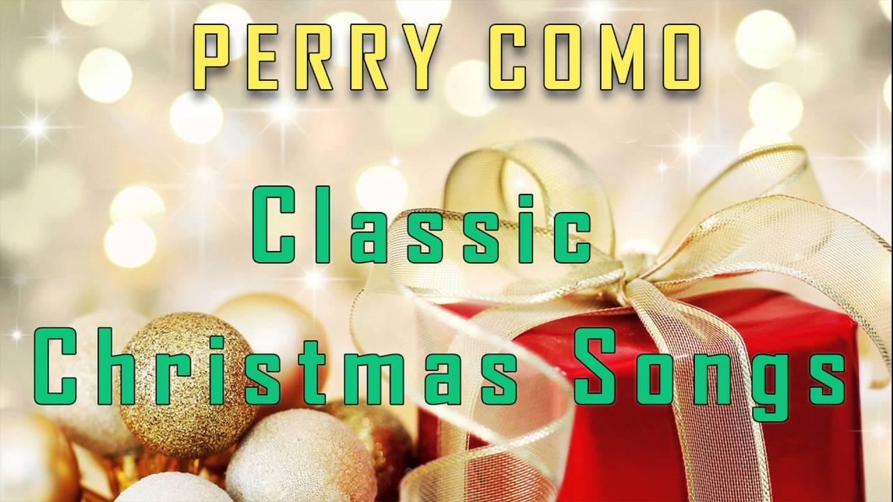 Perry Como Classic Christmas Songs - YouTube