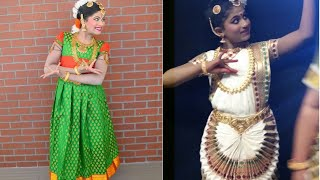 South Indian Classical Dance - Beginner level [  Bharatanatyam & Mohiniyattam] Alaipayuthe Kanna