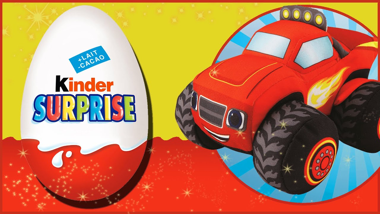 NEW Blaze and The Monster Machines Cartoon - Surprise Egg Toys - New Kids TV