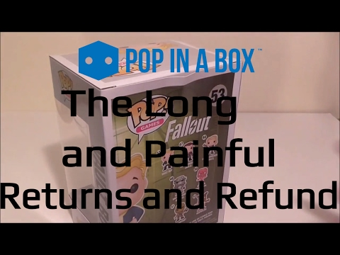 ★ POP! in a Box - Refund and Returns