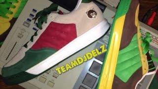 Unreleased Kanye West x Jayz x Reebok Classics S.Carter Sample Shoe With @DjDelz