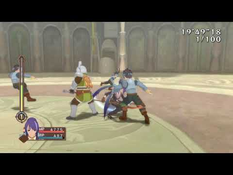 Tales Of Vesperia: Effective Fell Arms Power Up Method.