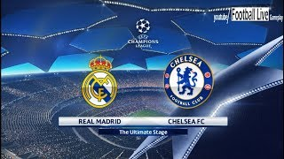 Pes 2018 | real madrid vs chelsea fc | uefa champions league (ucl) | gameplay pc