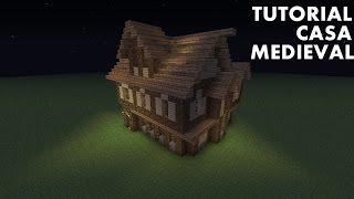 minecraft medieval tutorial casa