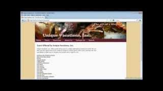Dreamweaver-(Creating a data-driven website) tutorial-full