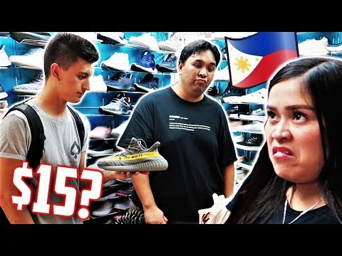 Philippines Fake Market GREENHILLS Manila! With Carlo Ople! (MANILA VLOG)