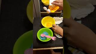 Kabinde Gizli Slime Yaptık! 2 Renkli Pofuduk Slime!!😄