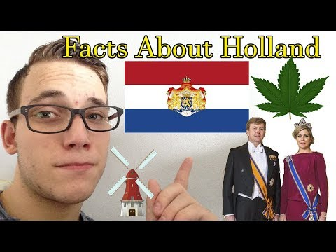 ASMR |  Facts About Holland / The Netherlands