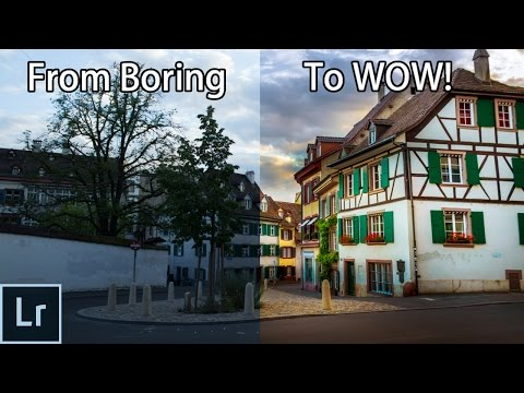 How To Turn a Boring Photo Into an Awesome Picture With Lightroom! - Lightroom 6 Editing Tutorial