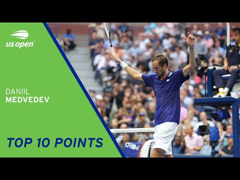 Daniil Medvedev   Top 10 Points   2021 US Open