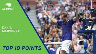Daniil Medvedev | Top 10 Points