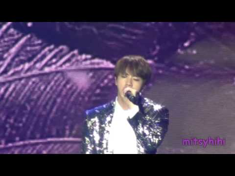 170320 BTS The Wings Tour in Brazil Fancam Part 11 - Awake Jin solo