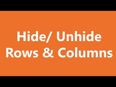 how to unhide a column in excel shortcut