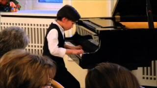 "Oliver Groneberg, 1. Preis bei ""Jugend musiziert"" 2014, Lerchengesang"