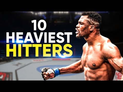 10 Heaviest Hitters In The UFC | 2019