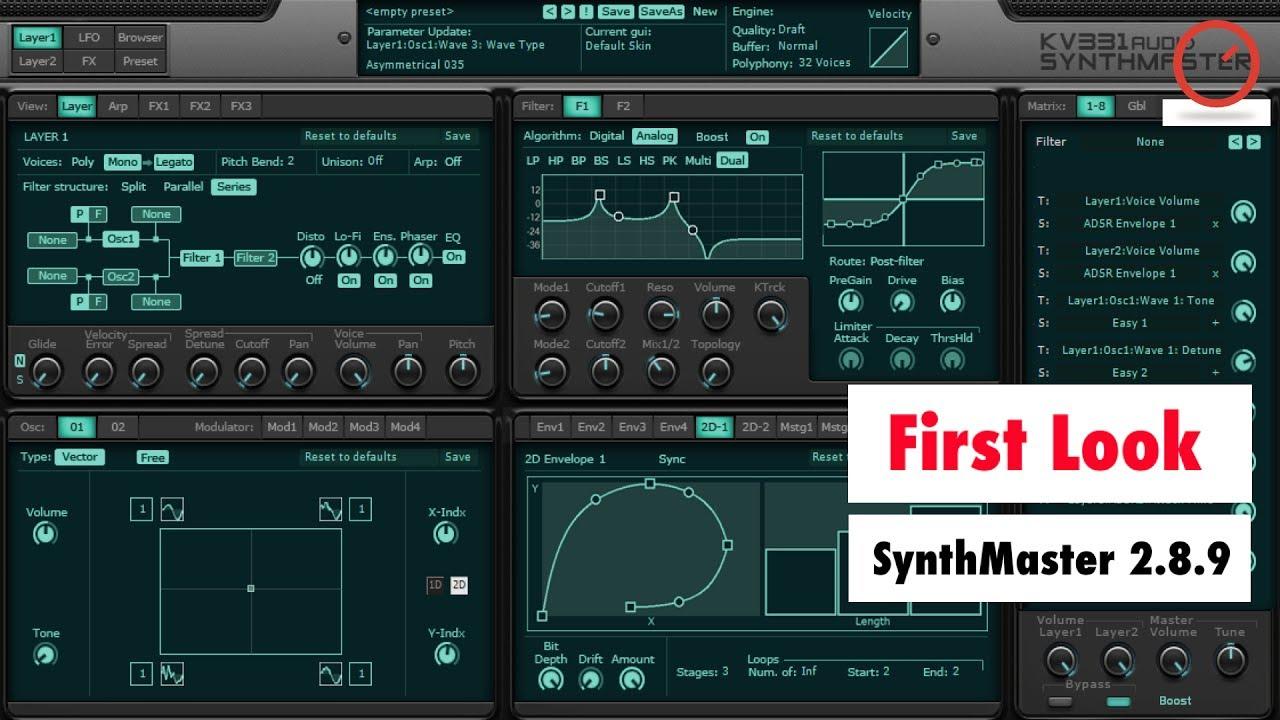 synthmaster 2.8 full