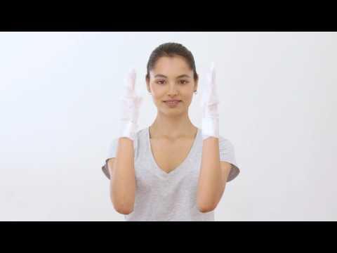 SKIMONO Handmasken  Anwendung