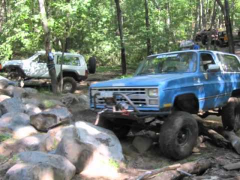 K5 Blazer Rock Crawling Clearwater 4wheelers - YouTube