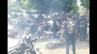 SITUASI  SAAT RX KING PESTA DI LUBANG BUAYA
