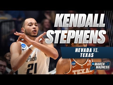 Nevada vs. Texas: Kendall Stephens scores 22 points in overtime win