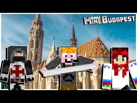 Építsük meg közösen a Mátyás-templomot - MineBudapest   w IceBlueBird ZsDav