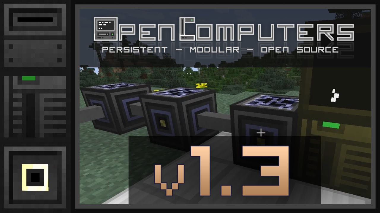 OpenComputers V New Features In Version Part English - Minecraft pocket edition hauser download