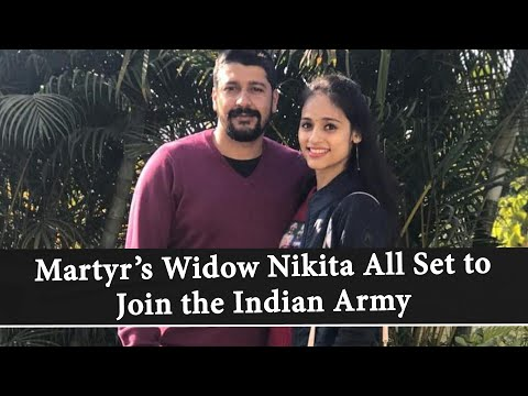 Nikita Kaul Dhoundiyal: Pulwama Martyr Major Vibhuti Dhoundiyal's Wife All Set To Join Indian Army