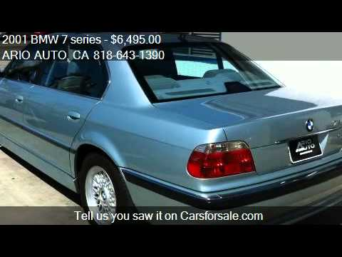 2001 bmw 7 series 740il for sale in n hollywood ca 91601 youtube. Black Bedroom Furniture Sets. Home Design Ideas