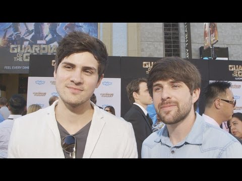 Smosh's Ian & Anthony Guardians of the Galaxy Premiere