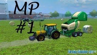 Farming Simulator 2013 - Multiplayer - Bölüm #1 - Multiplayer Nasıl Oynanır :)